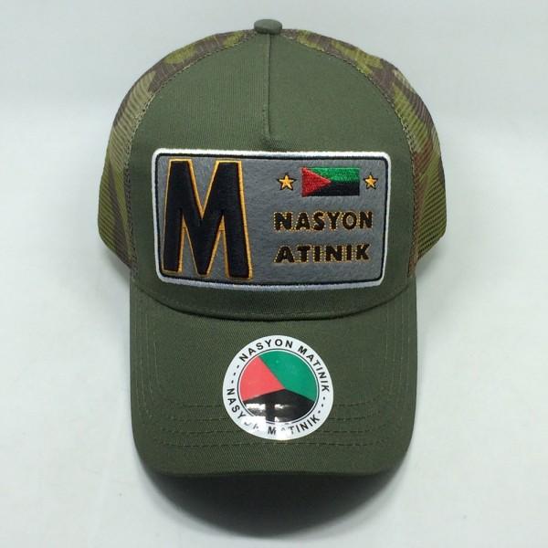 Casquette Nasyon Matinik - Army