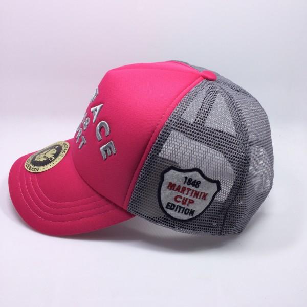 Casquette Martinik Cup - gris/rose