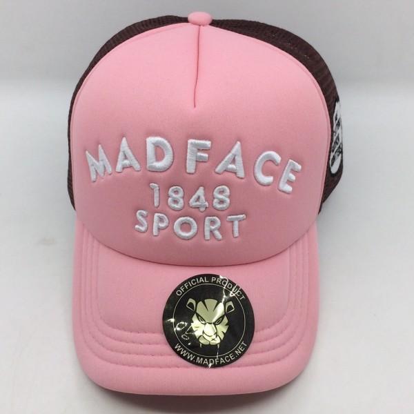 Capuchón conductor de camión - brown/pink (white)
