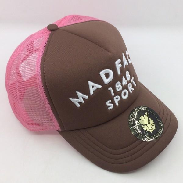 Casquette Trucker - pink/brown (white)