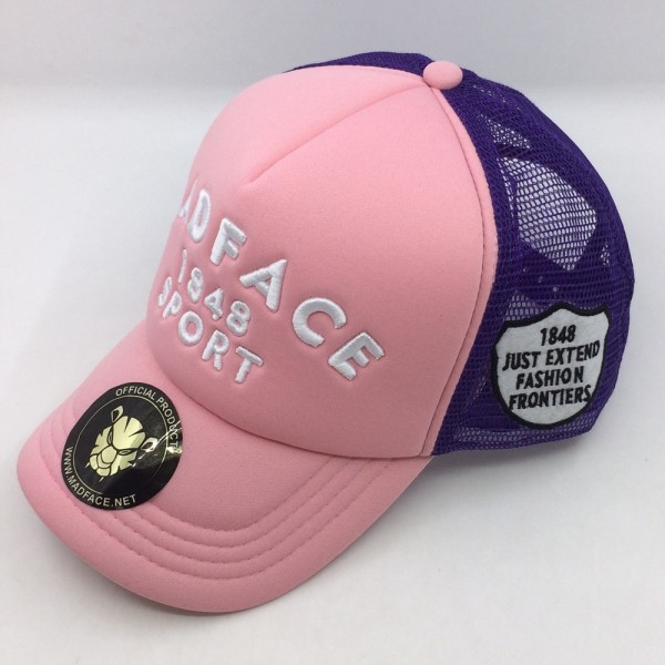 Cap Trucker - purple/pink (white)