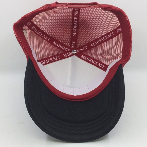 Casquette Trucker - red/black (white)