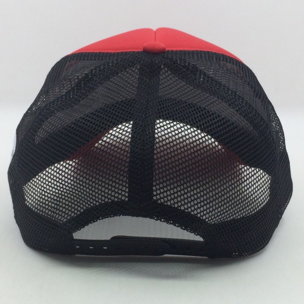Casquette Trucker - black/red (white)