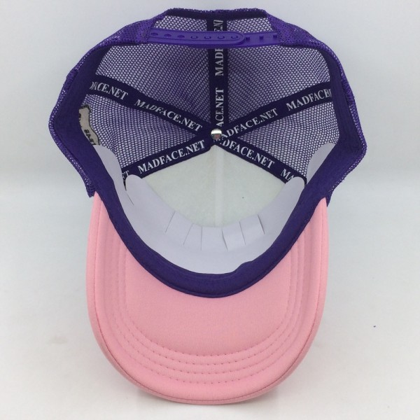 Casquette Trucker - purple/white/pink