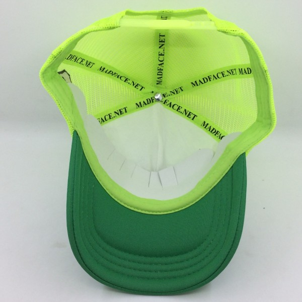 Cappellino Camionista - yellow/white/green