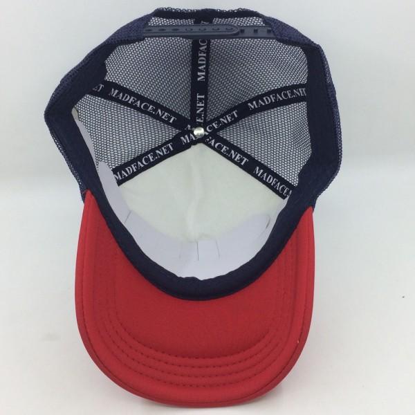 Casquette Trucker - navy/white/red