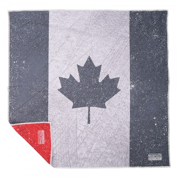 MADFACE vintage Canada reversible scarf - 100% made in France